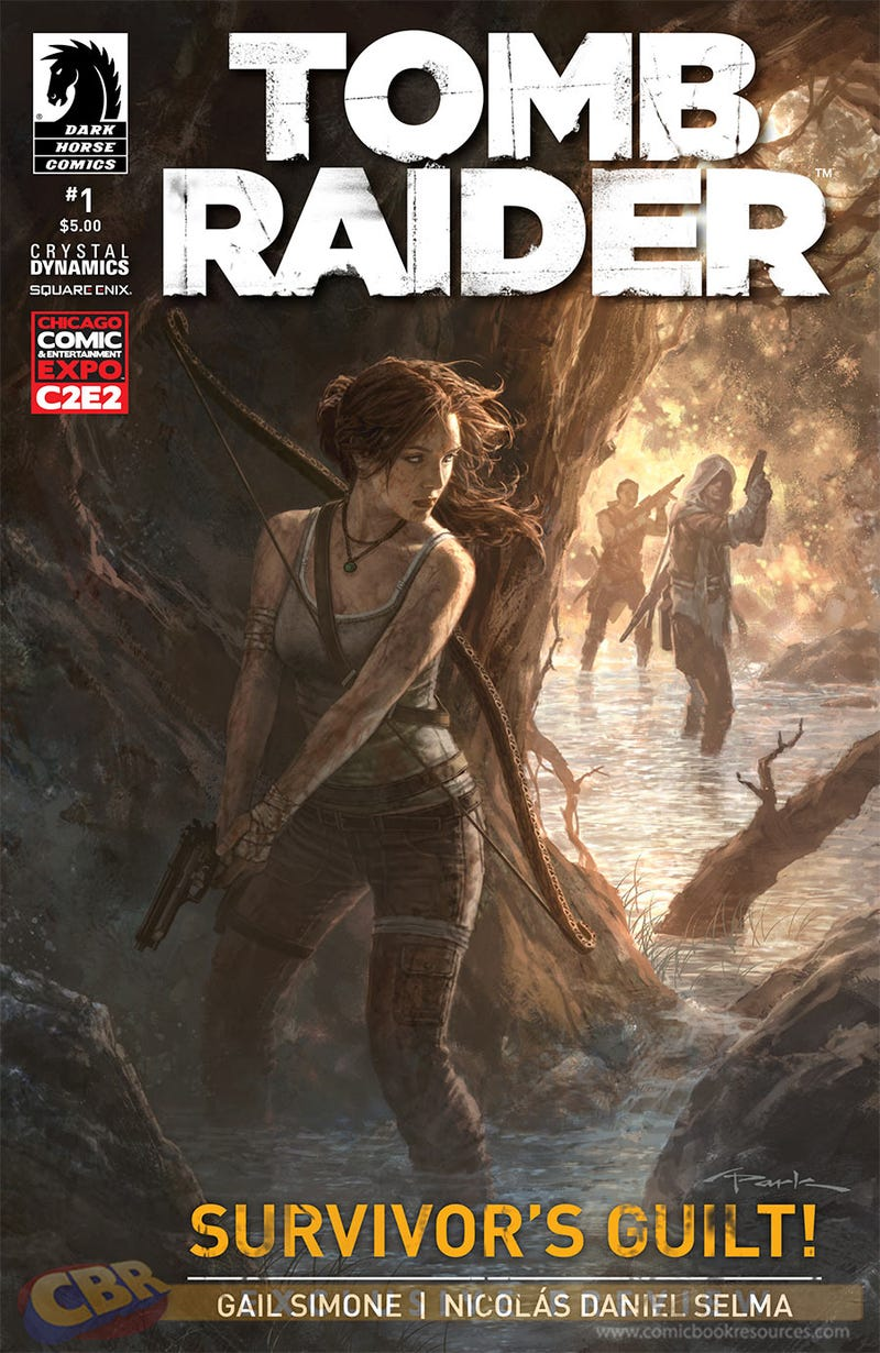 Illustration for article titled Tomb Raider #1 Convention Exclusive Cover