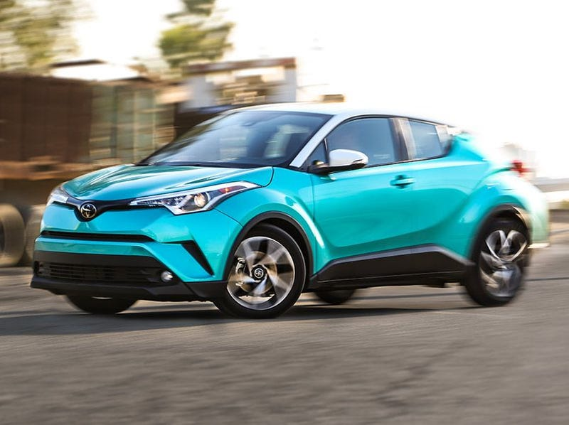 Illustration for article titled Saw a Toyota C-HR Today