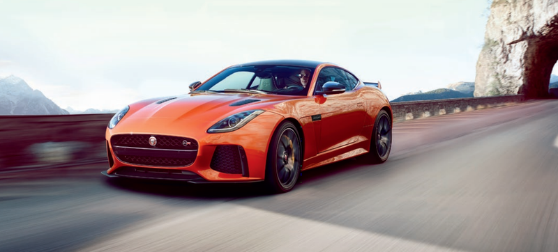 Illustration for article titled Jaguar F-Type SVR: This Is It In All Its 575 Horsepower Glory