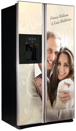 Illustration for article titled Celebrate The Royal Wedding With Commemorative Refrigerator