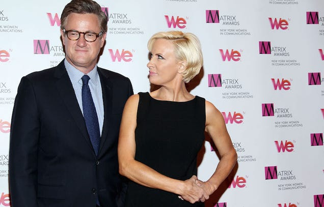 Joe Scarborough Either Did or Did Not Have a Little Primary-Night Hang Sesh in Donald Trump's Hotel Room