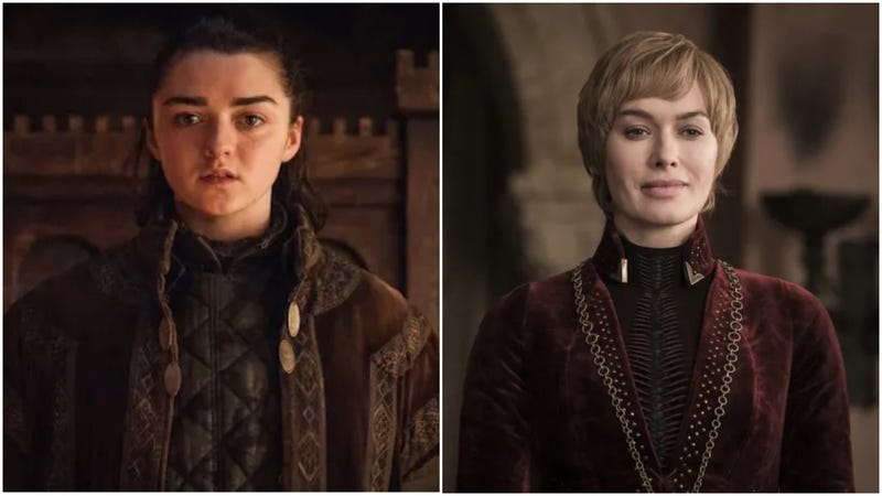 Illustration for article titled Maisie Williams and Lena Headey both wished for an Arya-Cersei standoff