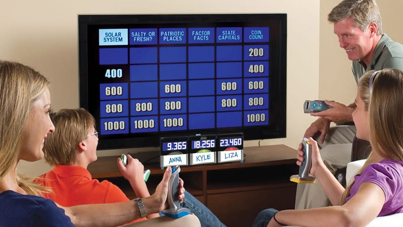 Illustration for article titled Jeopardy Home Game Will Expose How Stupid You Really Are