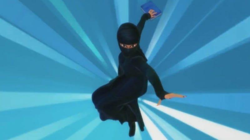 Illustration for article titled Burka-Clad Wonder Woman is Pakistan's Latest Superhero