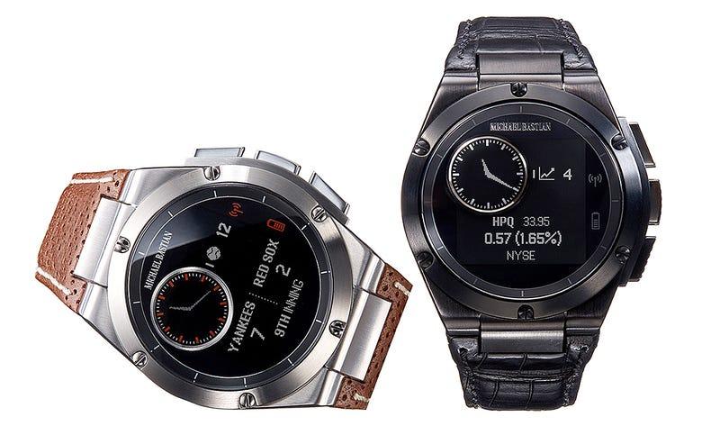 Illustration for article titled MB Chronowing, el reloj inteligente de HP se desmarca de Android Wear