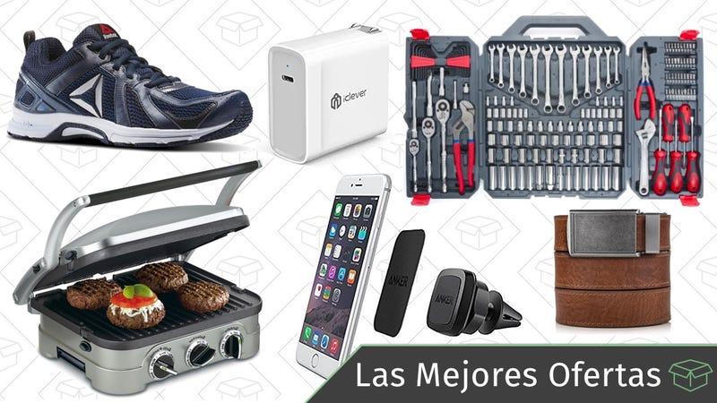 Illustration for article titled Las mejores ofertas de este miércoles: Rebajas de Reebok, cinturones, soportes para el teléfono y más