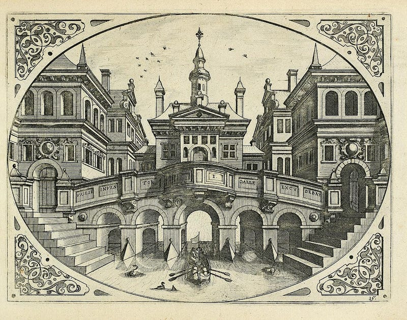 Illustration for article titled Perspectives: Architecture, 1636