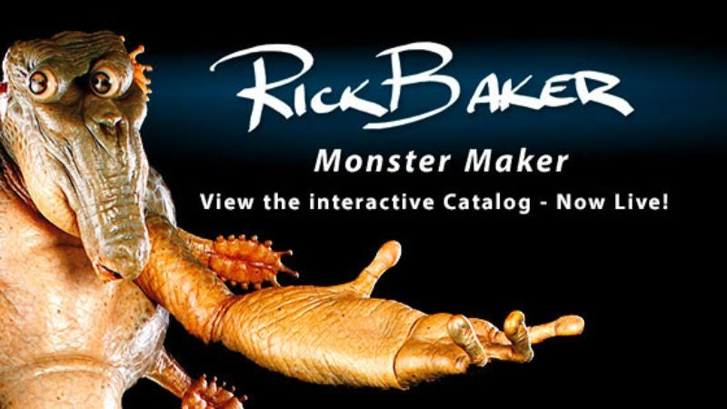 Illustration for article titled Rick Baker is having the world's coolest garage sale