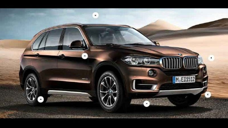 Illustration for article titled 2014 BMW X5: This Is It