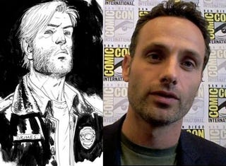 Illustration for article titled Does Andrew Lincoln have what it takes to be your Walking Dead hero?