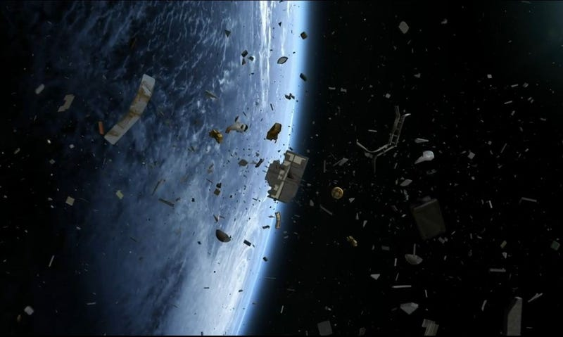 Illustration for article titled A Tax On Smartphones Could Help Pay For The Removal Of Space Debris