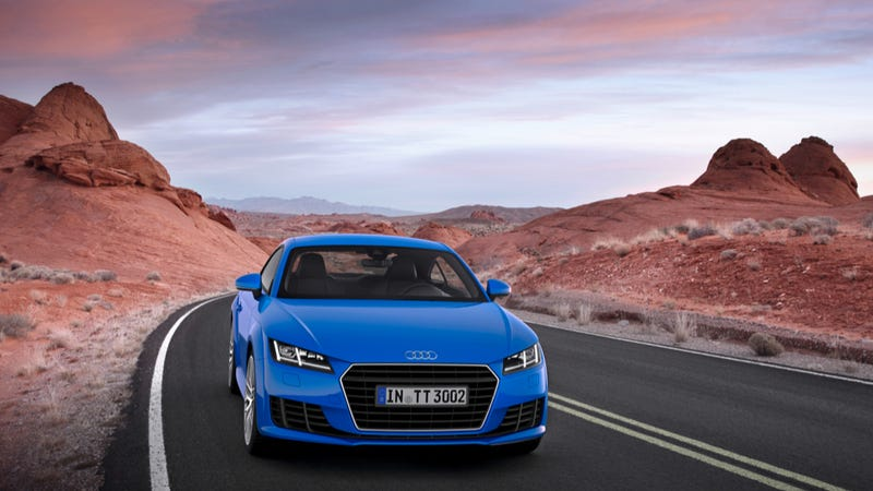 Illustration for article titled 2015 Audi TTS Has 310 Horsepower And The Cockpit Of The Future