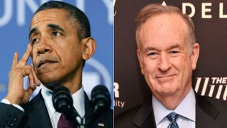 President Barack Obama; Bill O'ReillyJewel Samad (Getty Images); Stephen Lovekin (Getty Images)