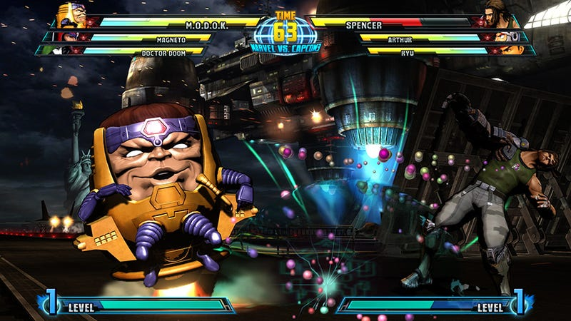 Illustration for article titled Marvel Vs. Capcom 3 Already Woefully Out Of Sync With Comic Book Reality