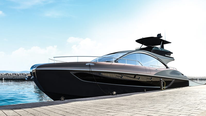 Lexus Hits The High Seas With A Flagship Luxury Yacht