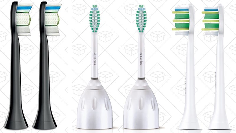 $5 Off Sonicare Brush Heads. Discount shown at checkout.