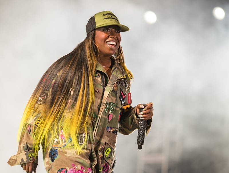 Missy Elliott performs onstage July 21, 2017, in Los Angeles. (Christopher Polk/Getty Images for FYF)