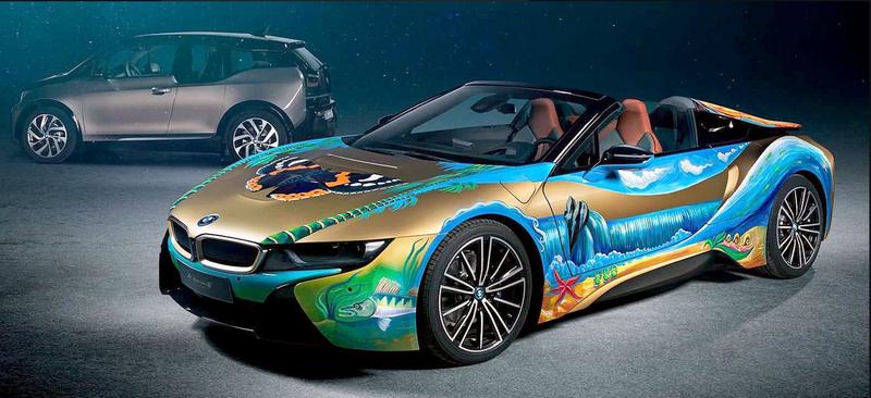 Illustration for article titled new BMW art car