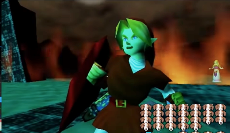 Illustration for article titled Speedrunner Shows Off What A 'Perfect' Ocarina of Time Run Looks Like