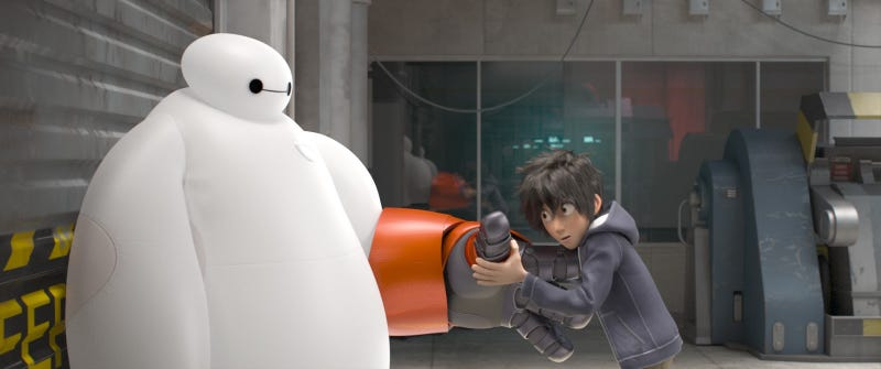 Illustration for article titled The First Pics From Disney's First Marvel Movie, Big Hero 6
