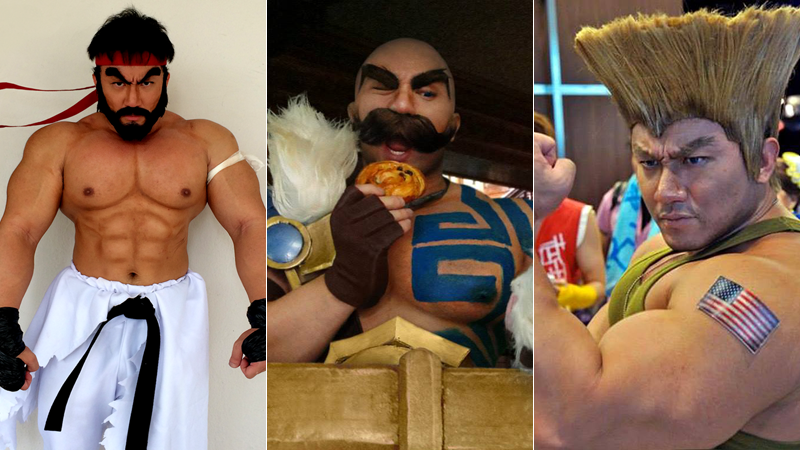 cosplay muscular