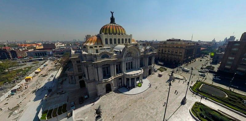 Illustration for article titled Ya puedes recorrer el Palacio de Bellas Artes de México con Street View