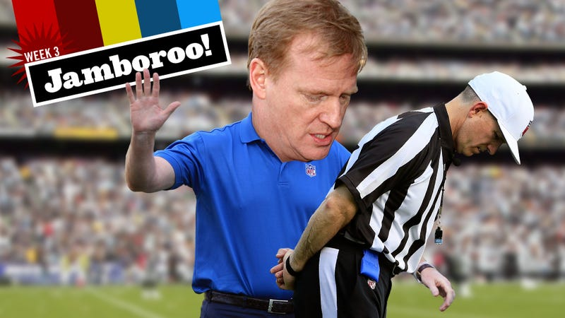Illustration for article titled If You Support The Scab Refs Because Of Your Politics, You're Either A Moron, A ProFootballTalk Commenter, Or Both