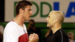 "Illustration for article titled Marat Safin Says Agassi Is ""Stupid"", Should ""Shut Up"""