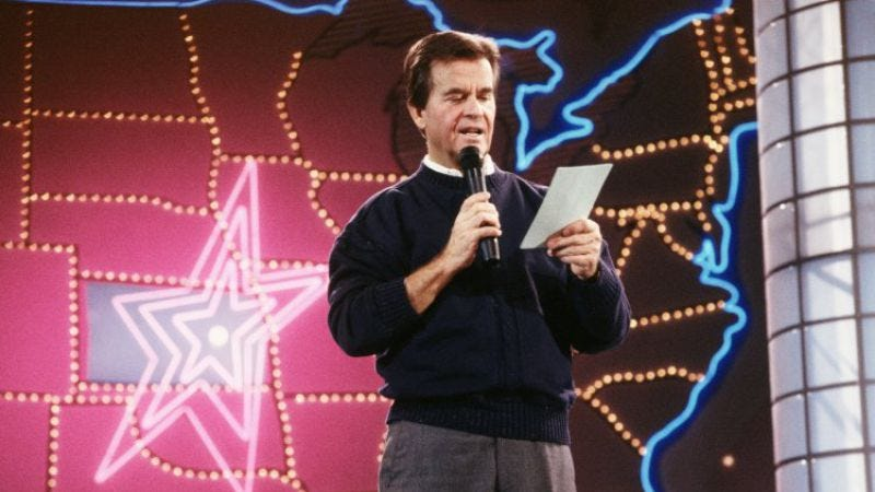 Illustration for article titled Teenager Of The Year: 9 Clips That Tell The Story Of Dick Clark