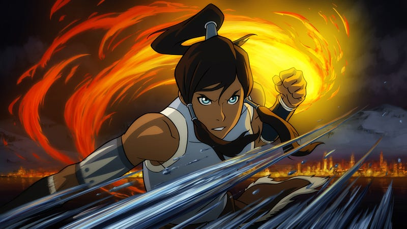 Here's A Clip From An Episode In The Second Season of Legend of Korra
