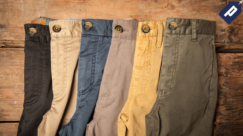 Illustration for article titled Step Into A Pair Of Soft, Cotton Chinos From Jachs This Fall For Just $36 (60% Off)
