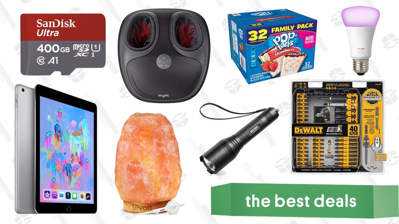 Illustration for article titled Friday's Best Deals: AirPods, Philips Hue, Pop-Tarts, and More