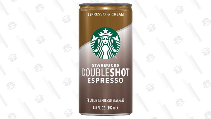 Starbucks Doubleshot Espresso 12-Pack | $13 | Amazon | With Subscribe & Save and 15% coupon