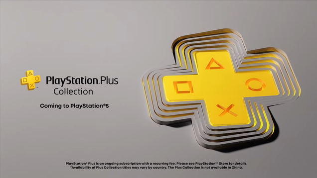 PlayStation Plus Collection Will Offer Select PS4 Games On PS5