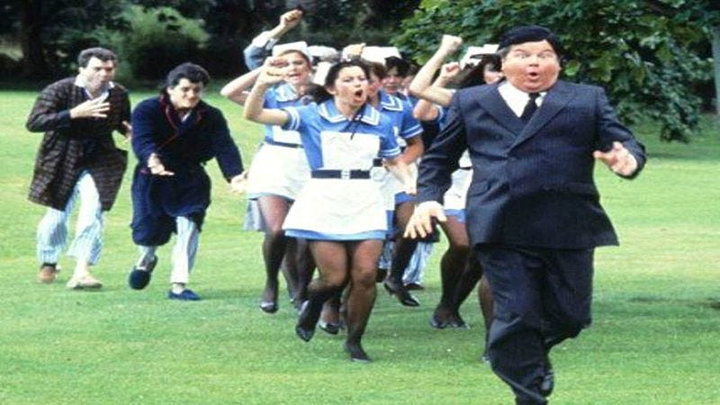 Illustration for article titled Benny Hill This is the most fun you'll have on the internet today