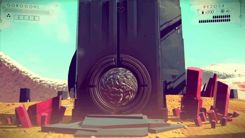 Nobody Knows How The Portals In No Man's Sky Work