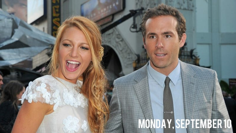 Illustration for article titled Ryan Reynolds and Blake Lively Secretly Got Married in a Cotton Field