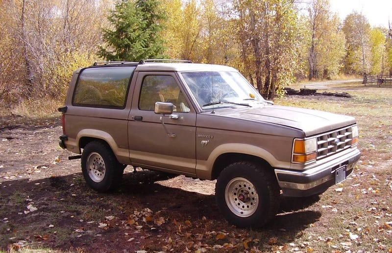 Illustration for article titled Could a Modest $1,500 Price Make This 1989 Ford Bronco II a Big Bucking Deal?