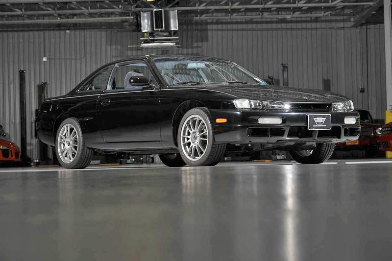 This Completely Unmolested Nissan 240sx Has 676 Miles And Was Kept