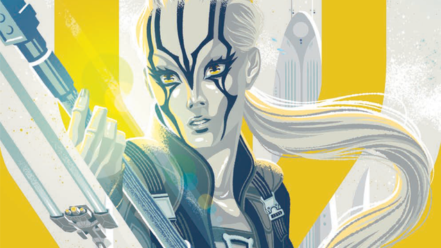 the best part of star trek beyond is coming to comics this week