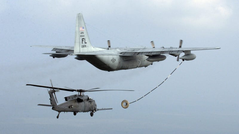 Illustration for article titled The HC-130J Combat King II: Combat Search and Rescue, Supersized