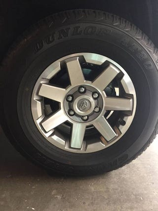 Illustration for article titled Today's Craigslist buy: 10k mile old 4runner wheels for my 2g taco.