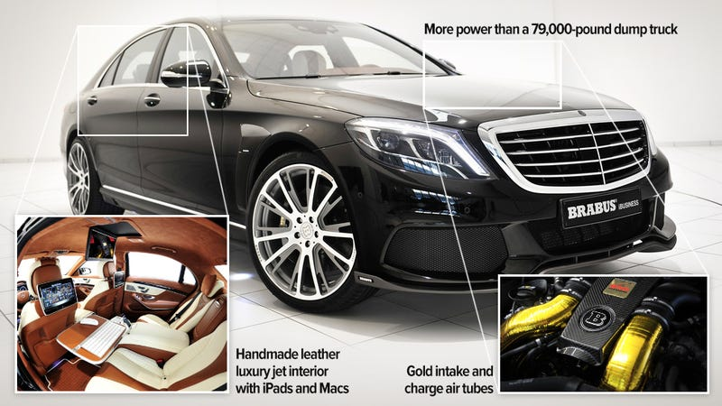 "Illustration for article titled This Mercedes is the newest top ""family"" car for the disgustingly rich"