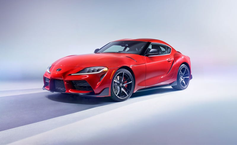 "Illustration for article titled New Supra to start at ""under"" $65k CAD"