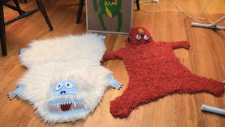 Illustration for article titled A trophy hunter gets a hold of Elmo, Kermit, and the Abominable Snowman — and starts making rugs