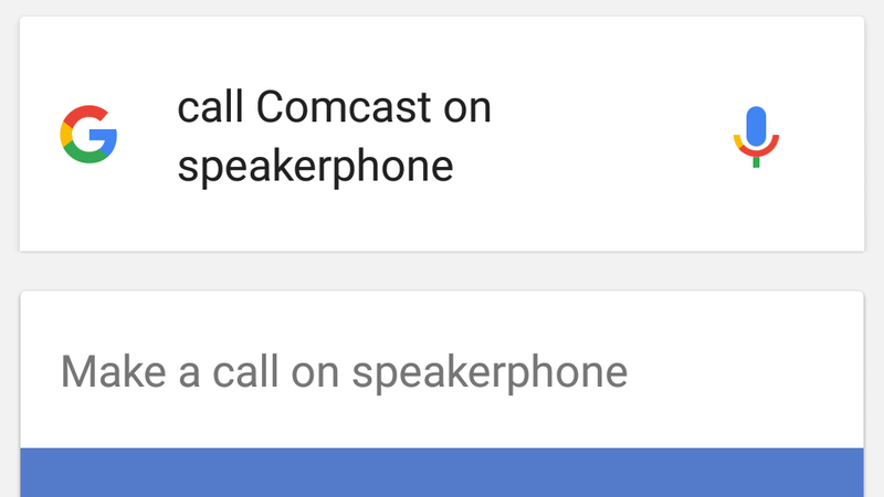 Illustration for article titled Call Someone on Speakerphone With a Google Now Command