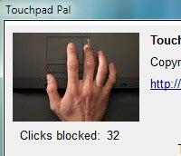 Illustration for article titled TouchpadPal Decreases Errors by Disabling the Touchpad While You Type