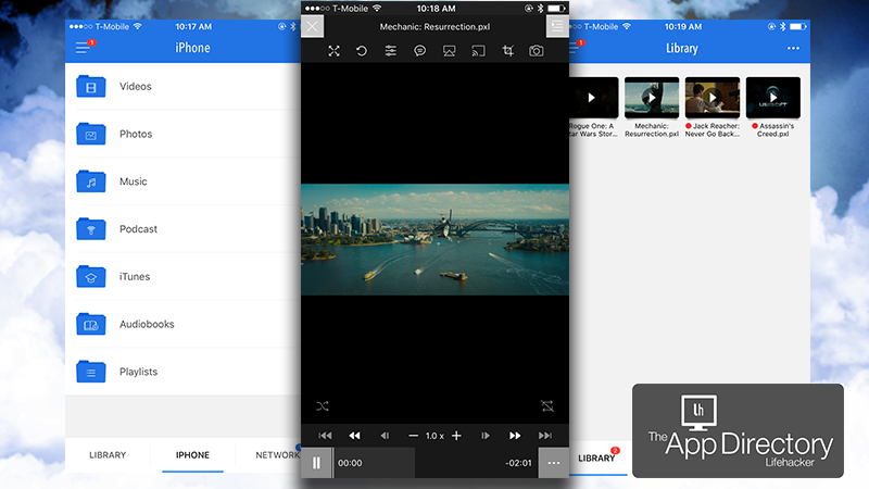 The best video player for iphone a long time ago apple made it difficult for third party developers to make a good media player for the iphone thankfully over the years theyve loosened sciox Gallery