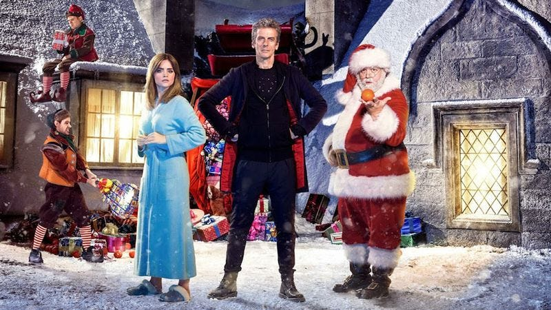 Illustration for article titled Nick Frost is Santa Claus on the Doctor Who Christmas special