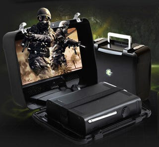 Illustration for article titled This Xbox 360 Looks Ready For The Battlefield